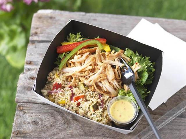 Greggs healthy salad