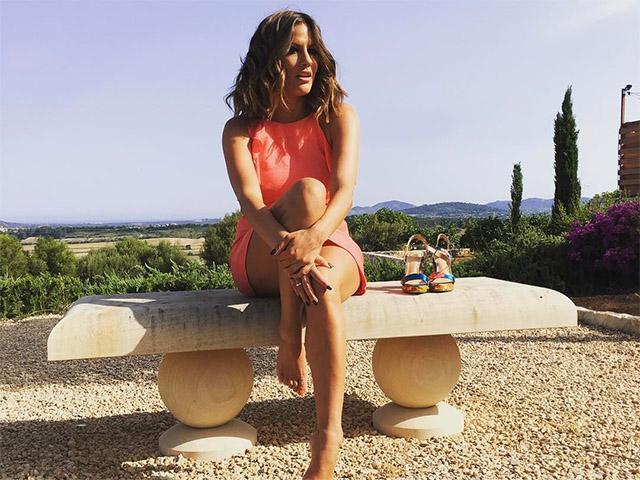 Caroline flack on holiday
