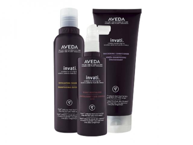 Invati system from Aveda for hair loss