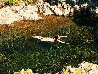 Lake district wild swimming