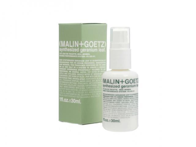 Malin and goetz synthesized geranium leaf perfume