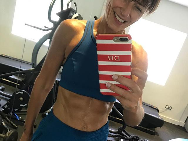 Davina McCall Has The Best Response To Trolls Who Don't Like Her Fitness Posts - Women's Health UK