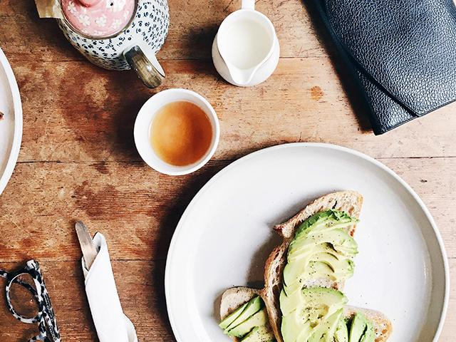 High fibre foods - avocado