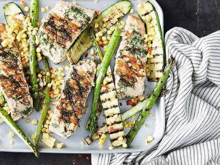 Antibiotics Meat Vegan Chargrilled Courgette - The Change To Your Eating Habits That Could Reduce Antibiotic Resistance By 66% - Women's Health UK