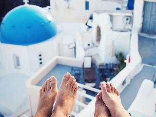 Couple In Hotel Room - 8 Things Happy Couples Do Every Week - Women's Health UK