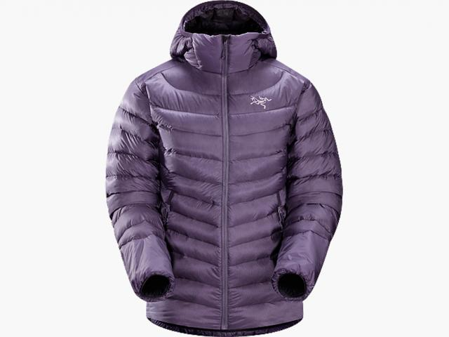 Cerium hoody amethyst from Arcteryx winter collection