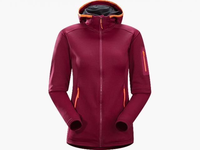 Fortrez hoody roseberry from Arcteryx winter collection