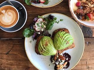 Avocado breakfast brunch