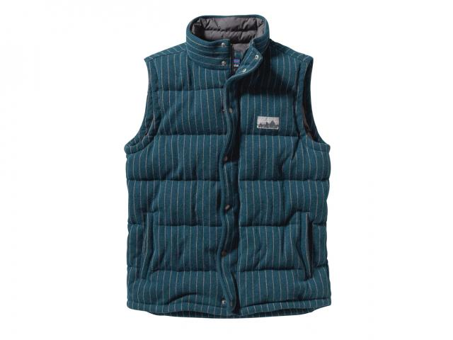 Special edition quilt again vest from Patagonia winter collection
