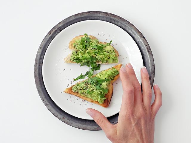 Avocado on toast - food intolerances - womens health uk