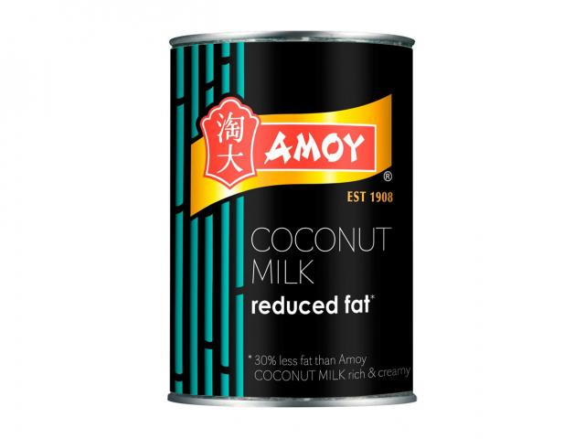 Amoy reduced fat coconut milk tin