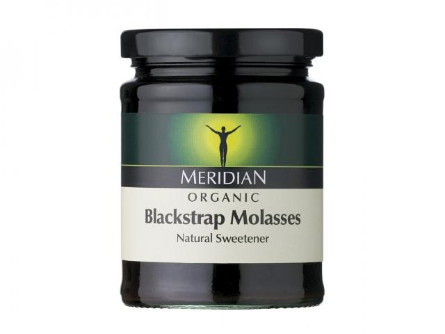 Meridian blackstrap molasses jar