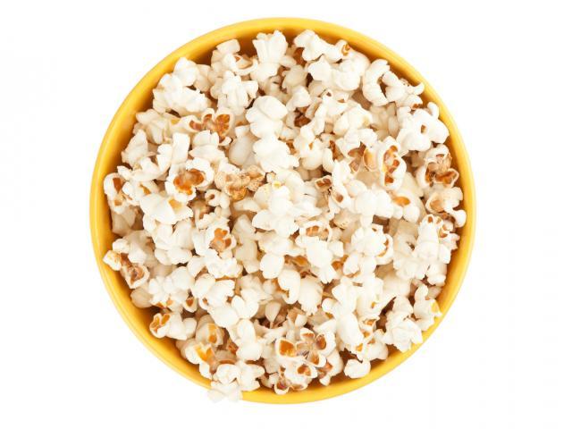 Popcorn in a bowl shutterstock