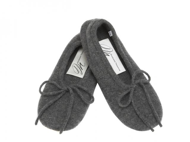 Madeline thompson cashmere slippers