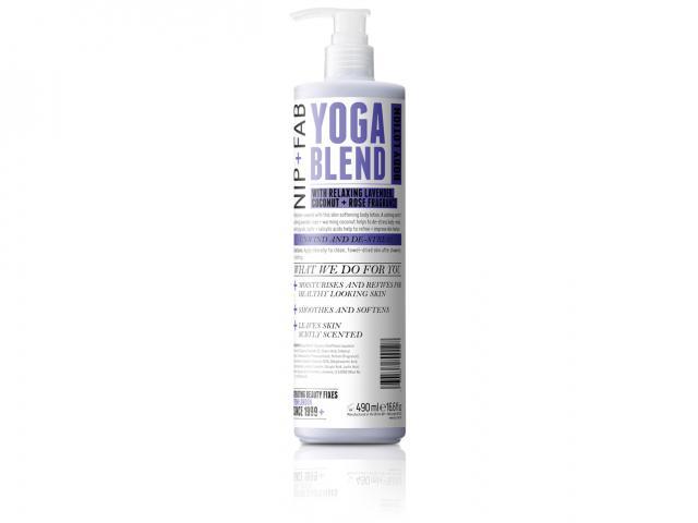 Body lotion-yoga blend-print