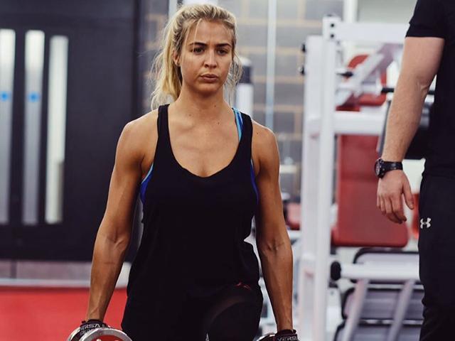 Gemma atkinson gym - healthy snacks