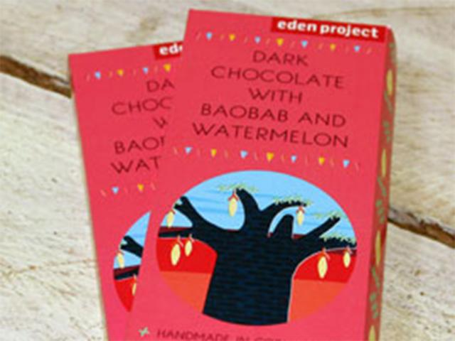 Eden project baobab chocolate bars