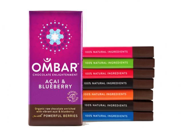 Ombar healthy chocolate bars