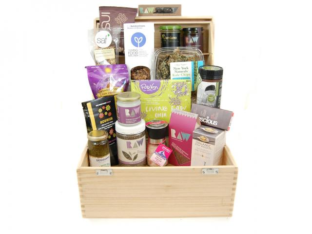 Raw luxury hamper