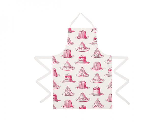 Thornback  peel jelly and cake apron