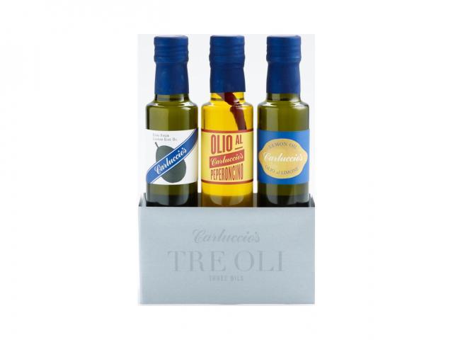 Three oil carluccio