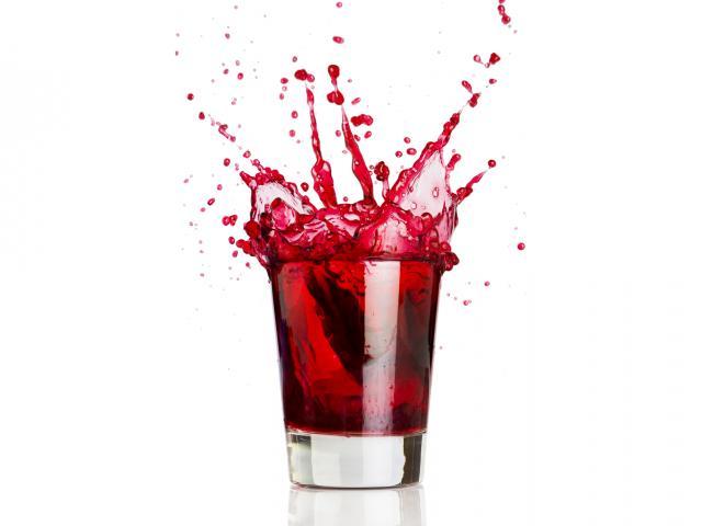 Cranberry juice shutterstock