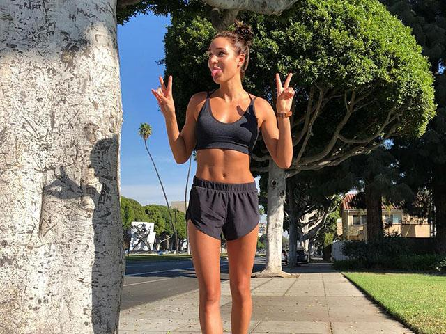 Get off the scales and track fitness with Kayla Itsines' more accurate method. Read more at womenshealthmag.co.uk.