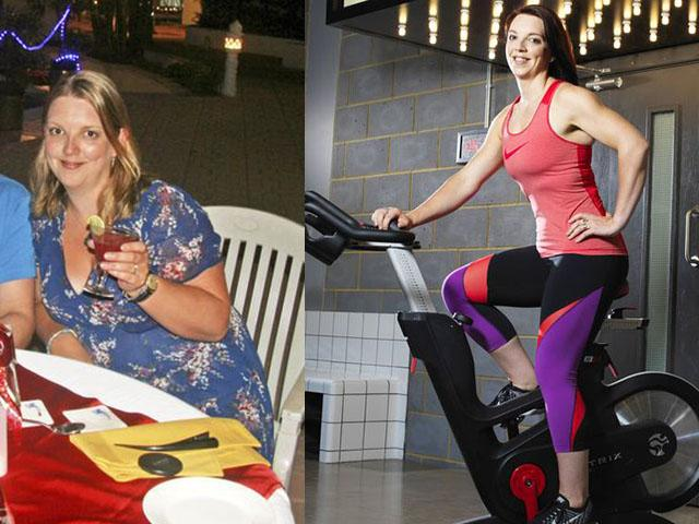This woman ditched fad diets and made small healthy changes to lose weight. Read more at womenshealthmag.co.uk.