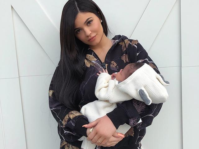 Kylie jenner baby weight