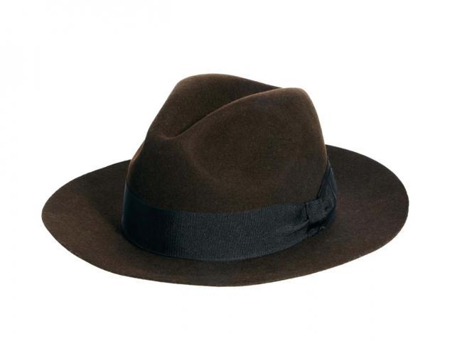 Laird racer fedora hat