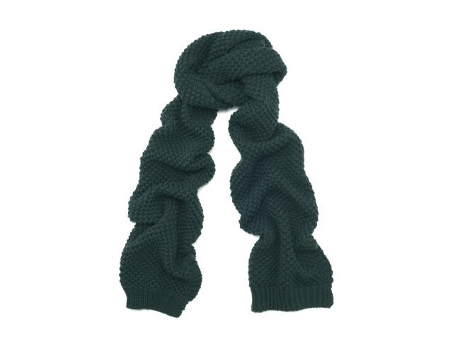 Whistles dark green scarf