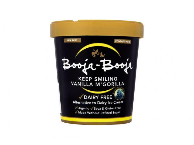 Keep smiling vanilla mgorilla booja-booja ice cream