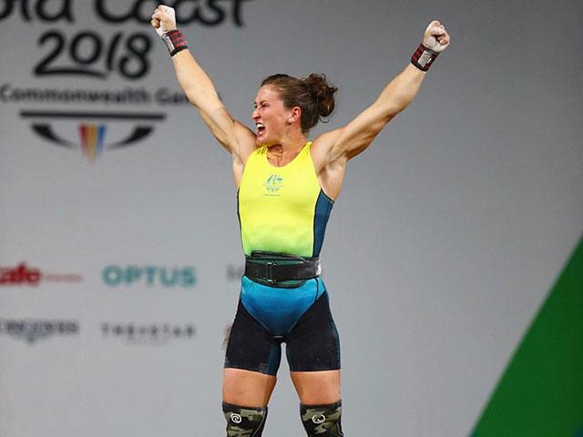 Exactly What Exercise Tia Clair Toomey Did For Her Commonwealth Gold Win - Women's Health UK