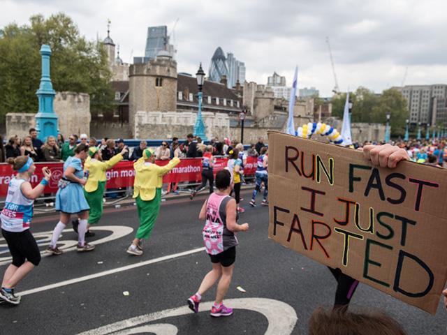 London marathon miles