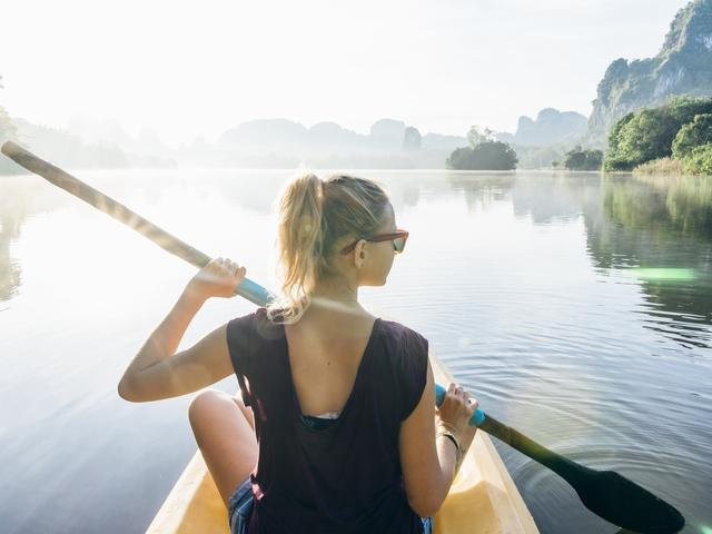 Outdoors activities rowing-9 Outdoor Activities That Aren't Running-Women's Health UK