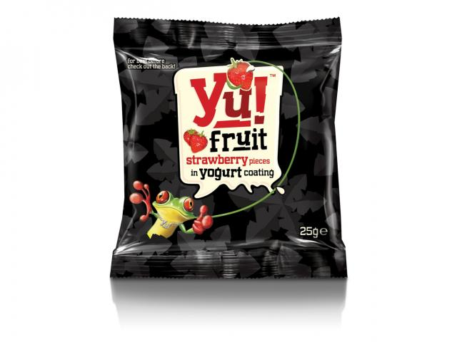 Yu strawberry fruit chews