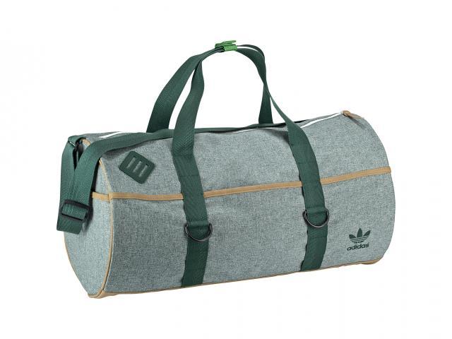 Adidas two-tone duffel bag