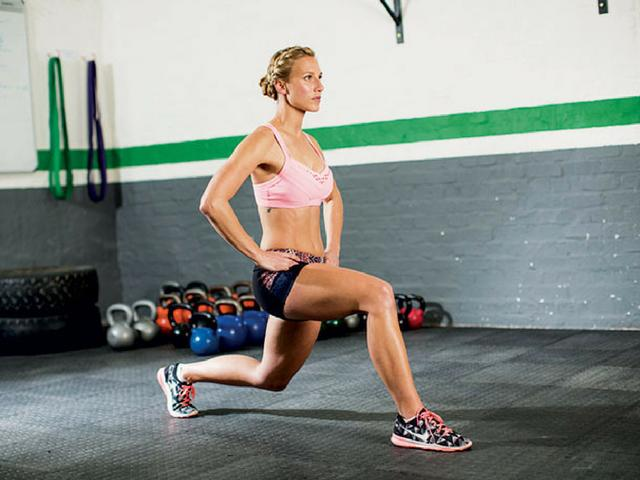 This Is Exactly How To Lunge Properly. Women's Health UK