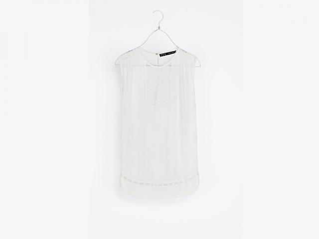 Lace top Zara