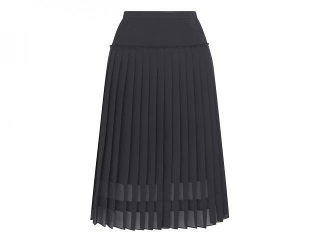 Black pleated skirt Jigsaw