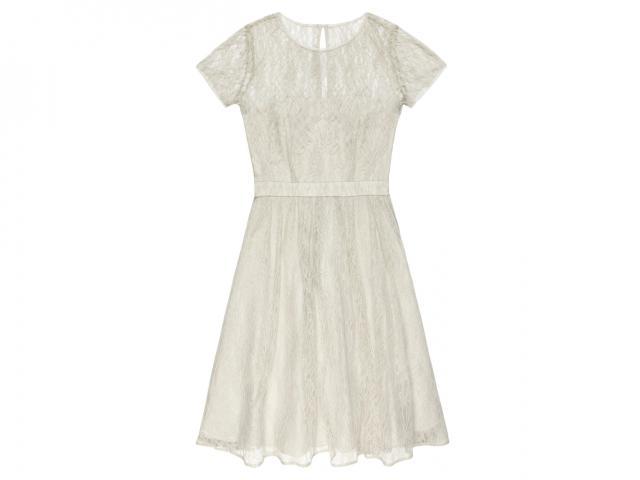 Cream lace dress Reiss