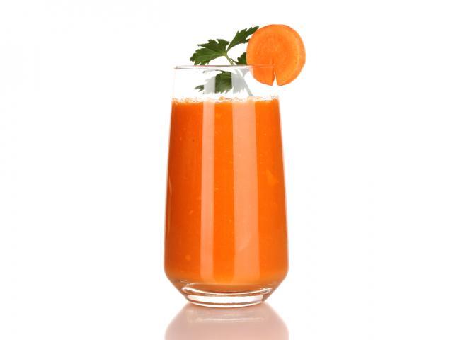 Carrot  coriander margarita