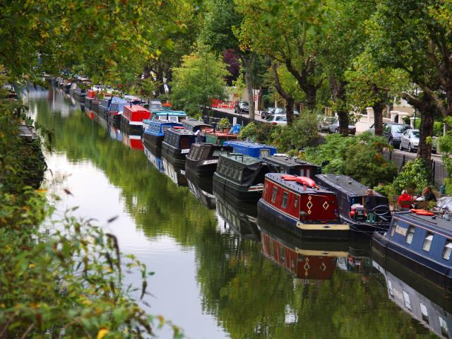 Image result for victoria park canal london